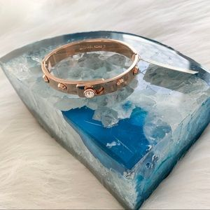 Brand New with tags Rose Gold Michael Kors Bangle